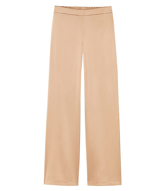 reverie satin cloth ankle riverside pant