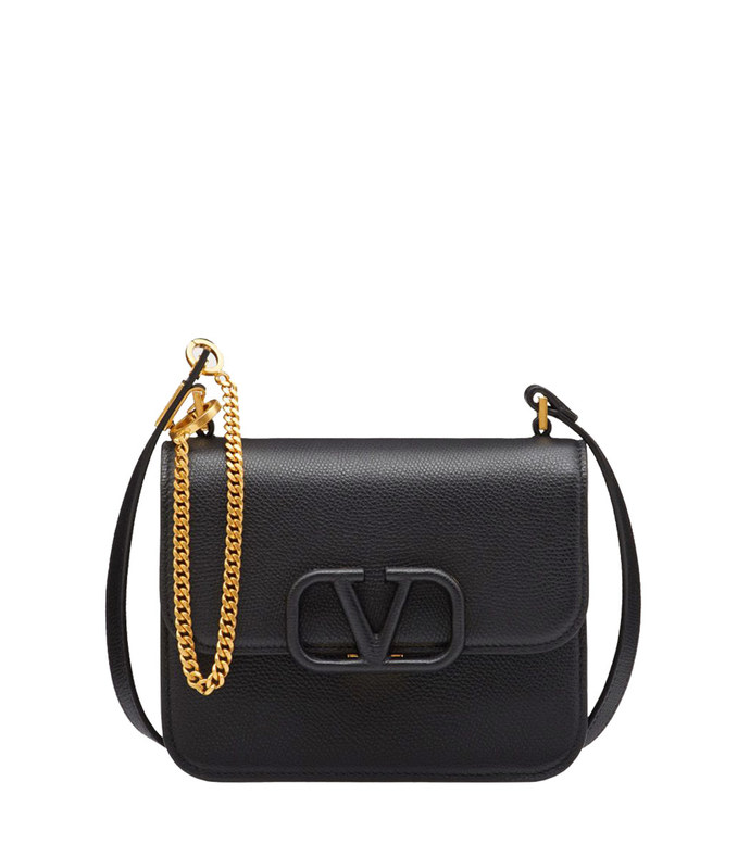 small vsling calfskin shoulder bag