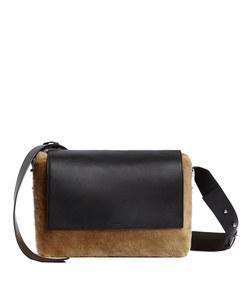 versailles lea large leather shoulder bag