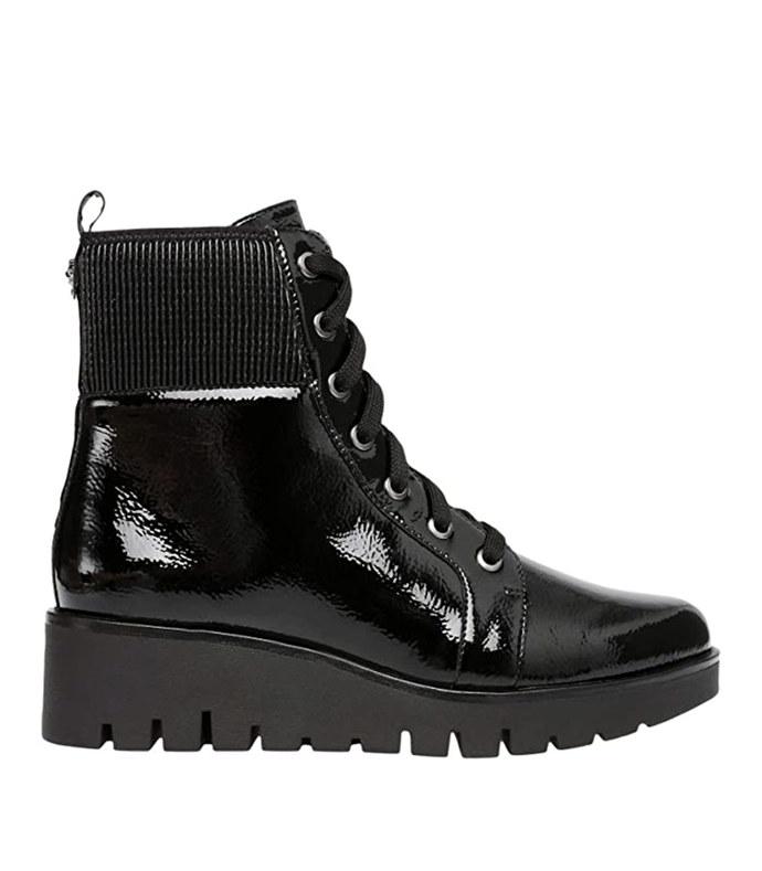 derry patent combat boots