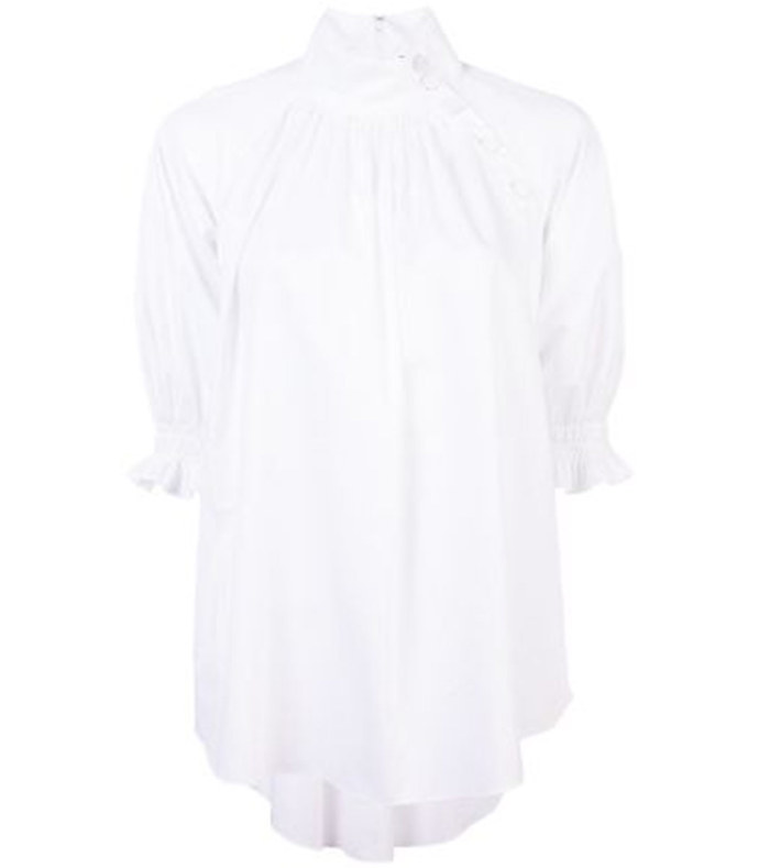 exclusive smocked blouse