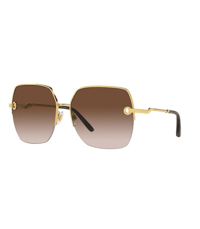gold dg amore sunglasses
