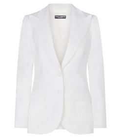 woolen fabric single-breasted jacket