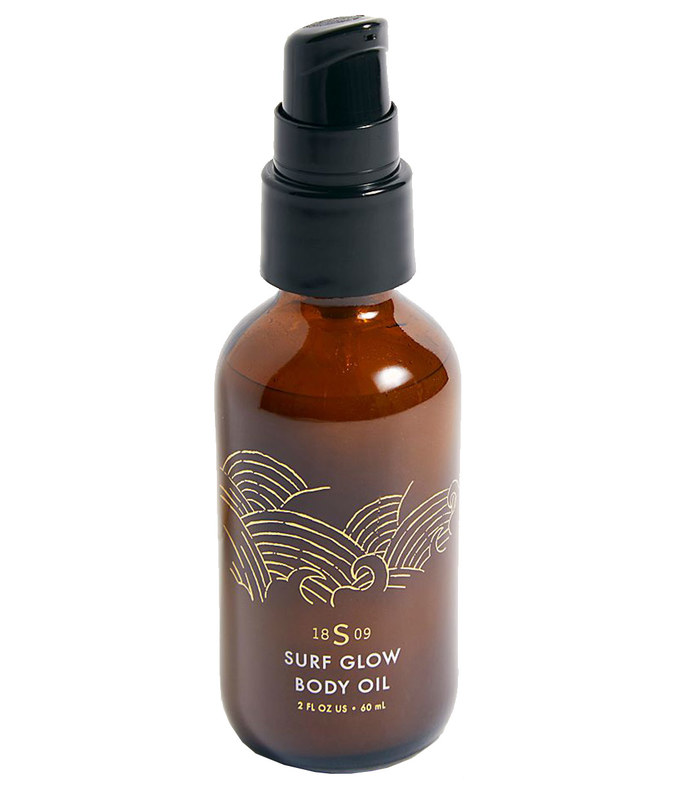 1809 collection surf glow body oil