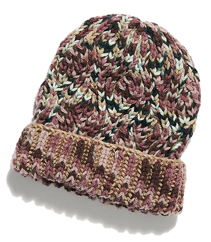 freestyle handknit cable beanie