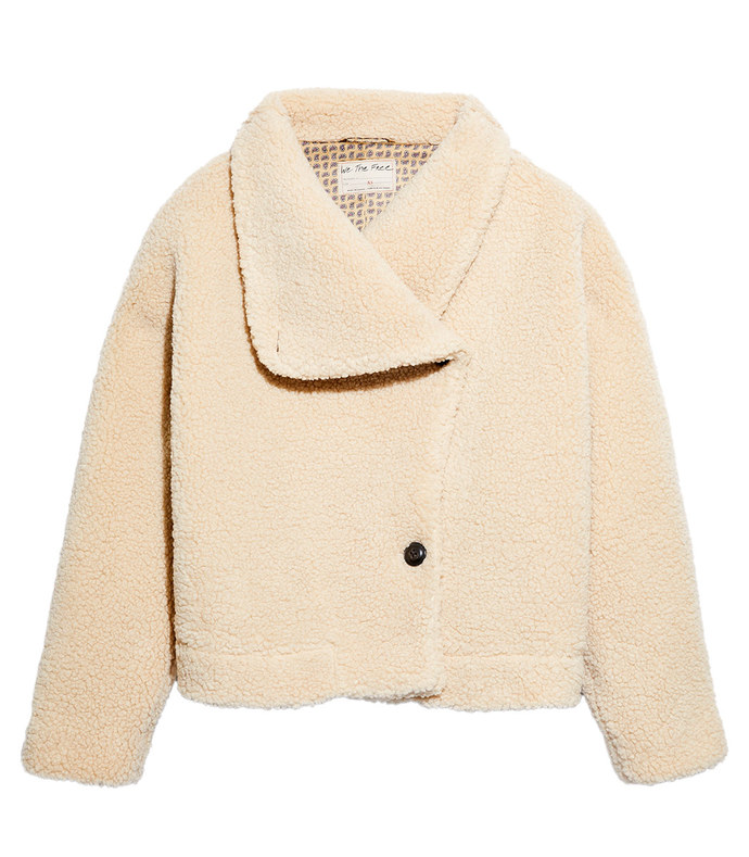 izzy wrap teddy jacket