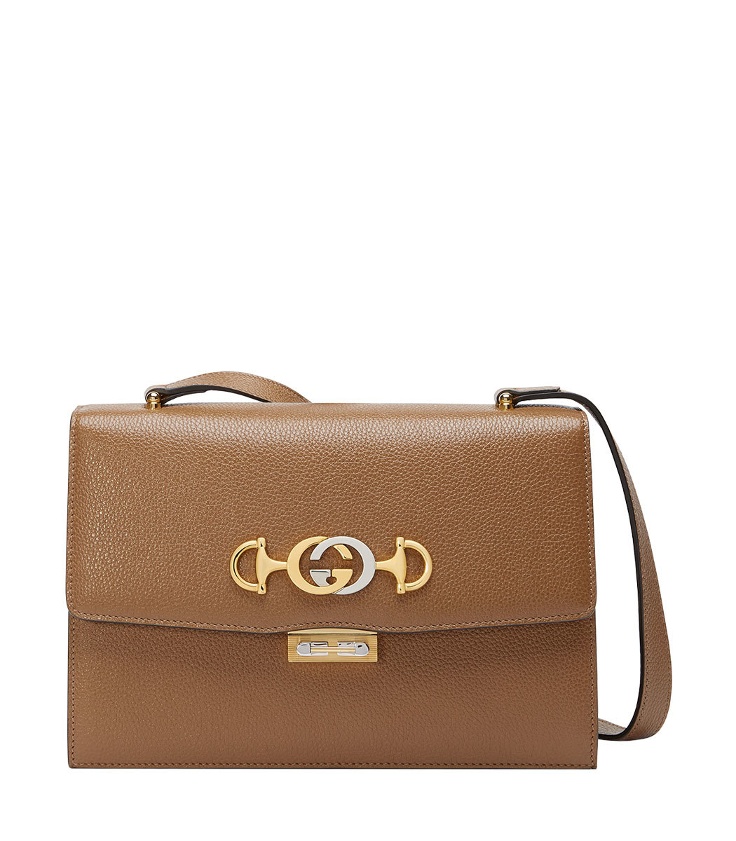 cc8cc330f Gucci Gucci Zumi Grainy Leather Small Shoulder Bag - ShopBAZAAR