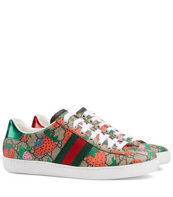 women's ace gg gucci strawberry sneaker