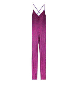 crystal embroidered jumpsuit