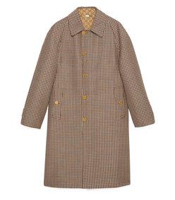 men's reversible wool coat