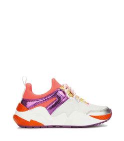 maddox sneaker - coral multi