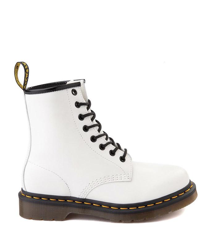1460 8-eye boot - white
