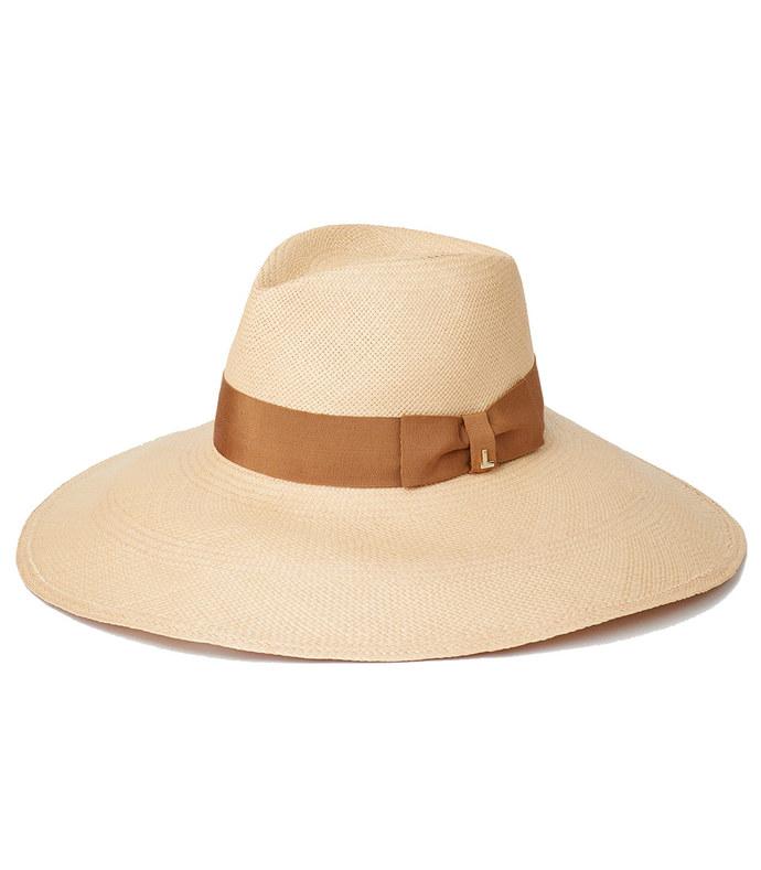 wide brim icon hat