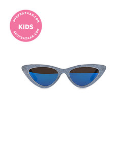 monnalisa - butterfly sunglasses with mirror lenses