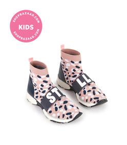 stella mccartney kids - laceless sock-fit trainers
