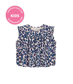 sonia rykiel paris - mini me print blouse