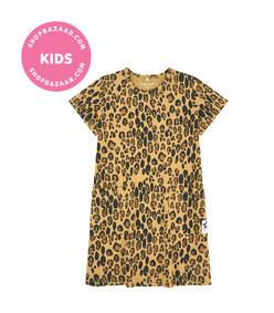 mini rodini - leopard dress
