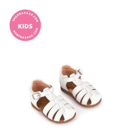 pom d'api - leather sandals fancy papy