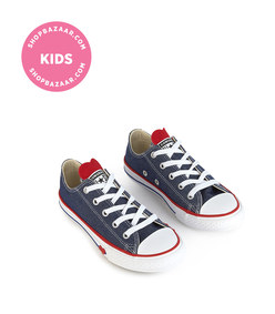 converse - cloth sneakers with laces chuck taylor all star