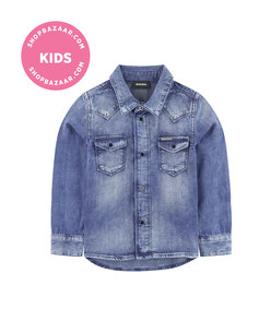 diesel - jean shirt