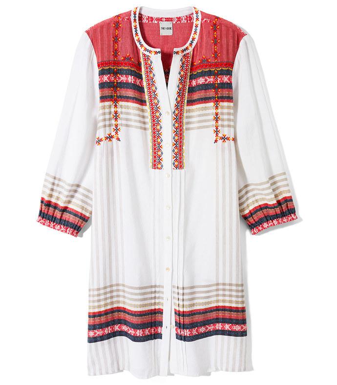 around town tunic dress