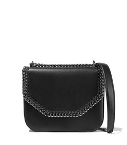 falabella faux leather shoulder bag