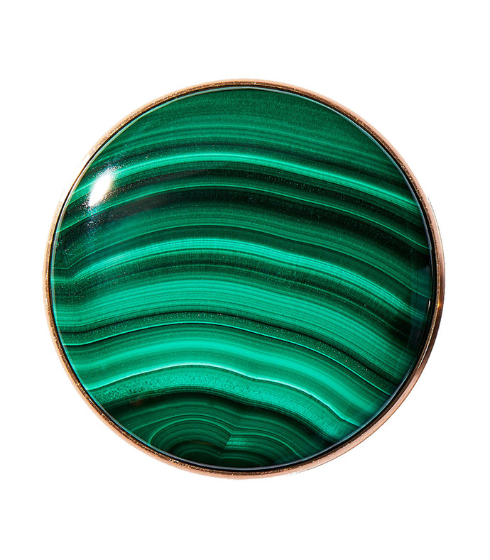 polished malachite popgrip