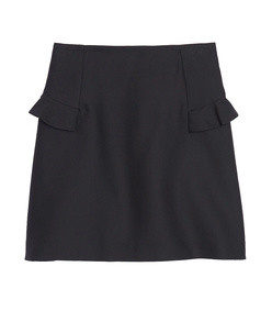 skirt with ruffle detailing