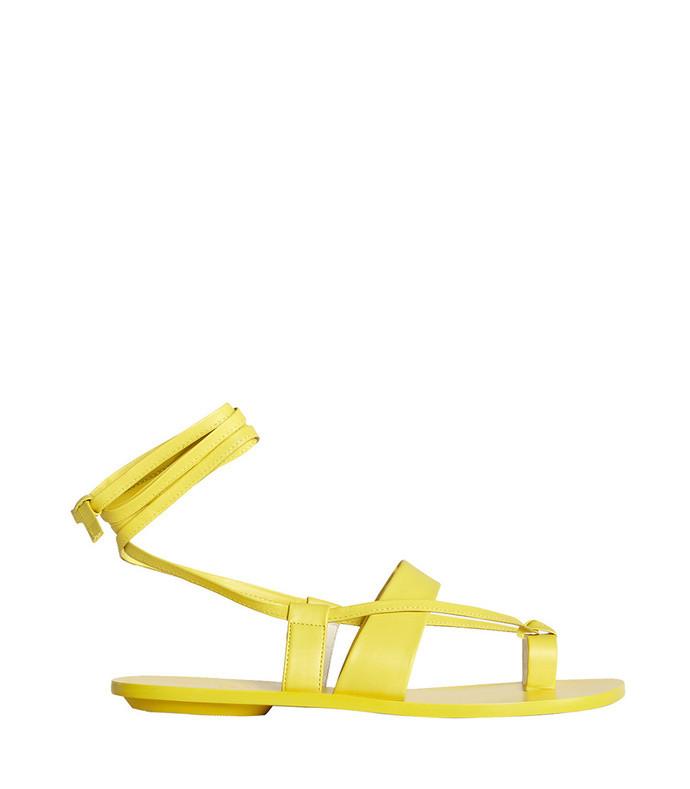 yellow reid sandals