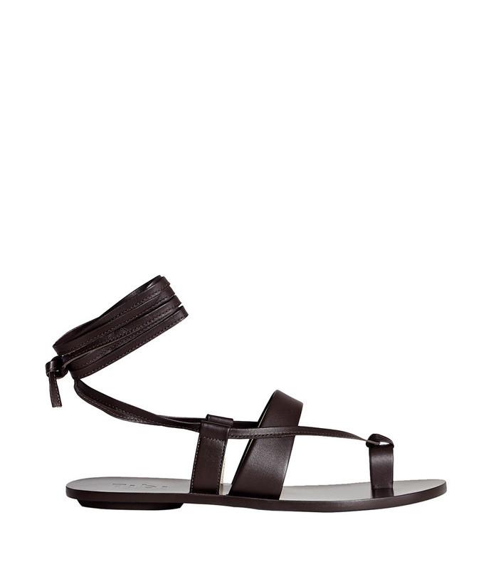 black reid sandals