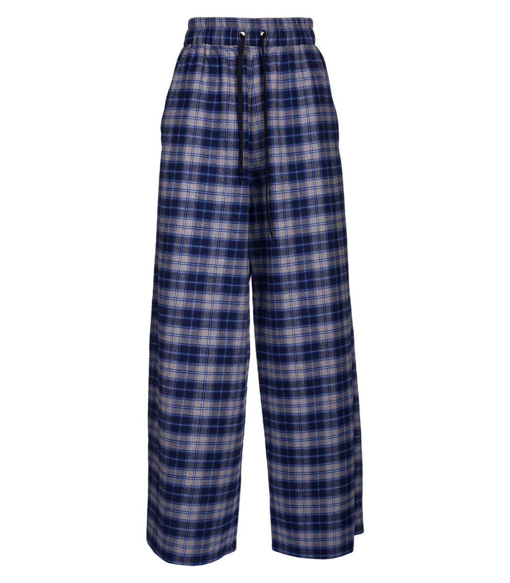 Natasha Zinko Blue And Grey Pijama Trousers