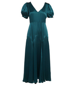 the daisy dress-marine green