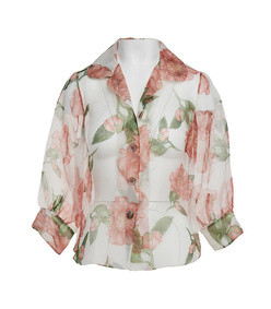 the juliette blouse-bella rose