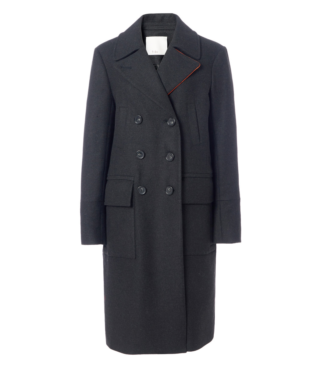 Felted Wool Overcoat