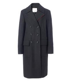 felted wool overcoat