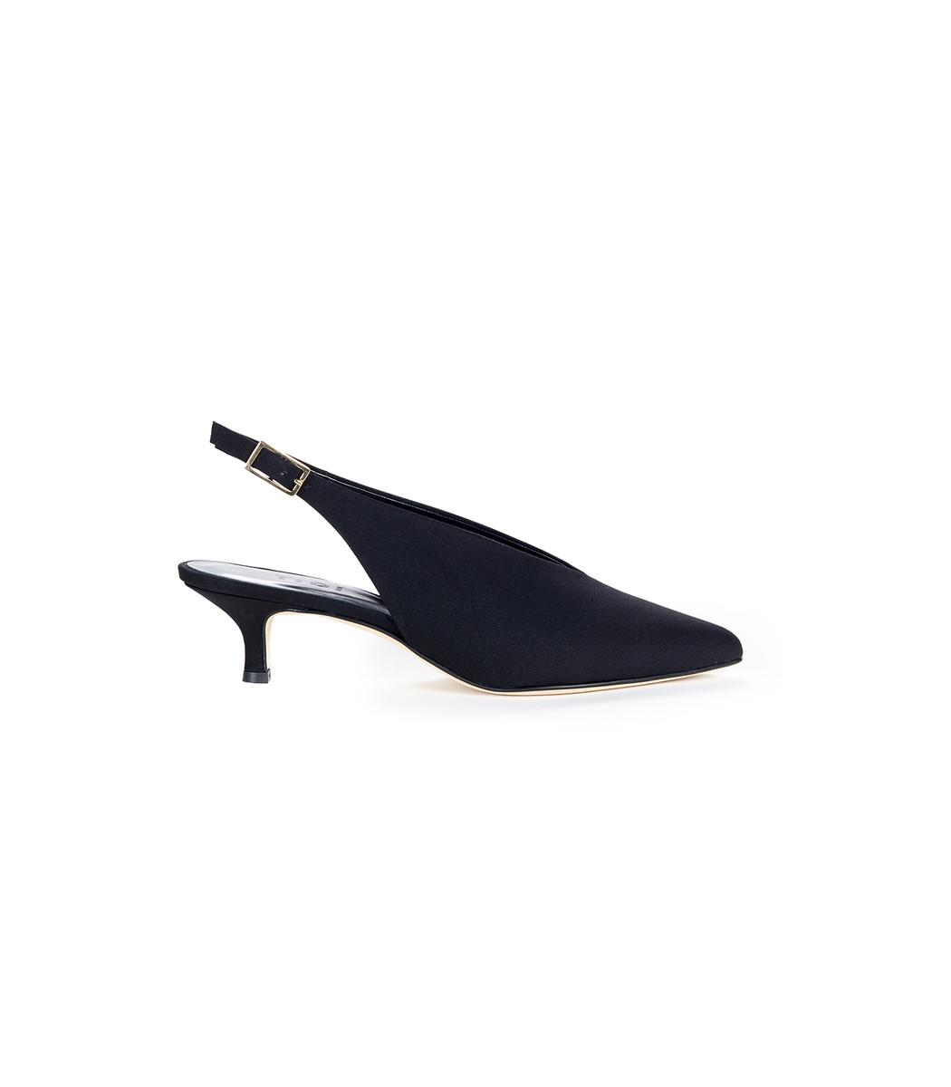 Black Lia Heels