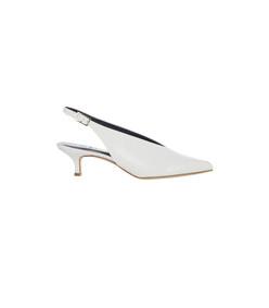 bright white lia heels