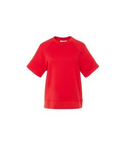 cherry red easy sweatshirt