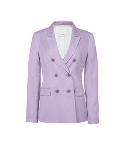 lavender steward blazer