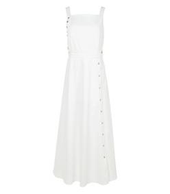 white crosby snap dress