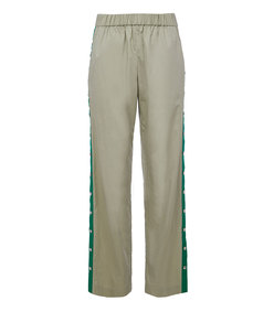 tech pique pull on snap pants