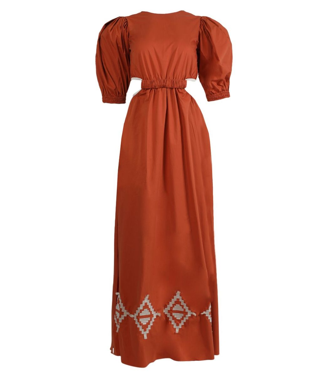 Johanna Ortiz Smell Of Almond Maxi Dress