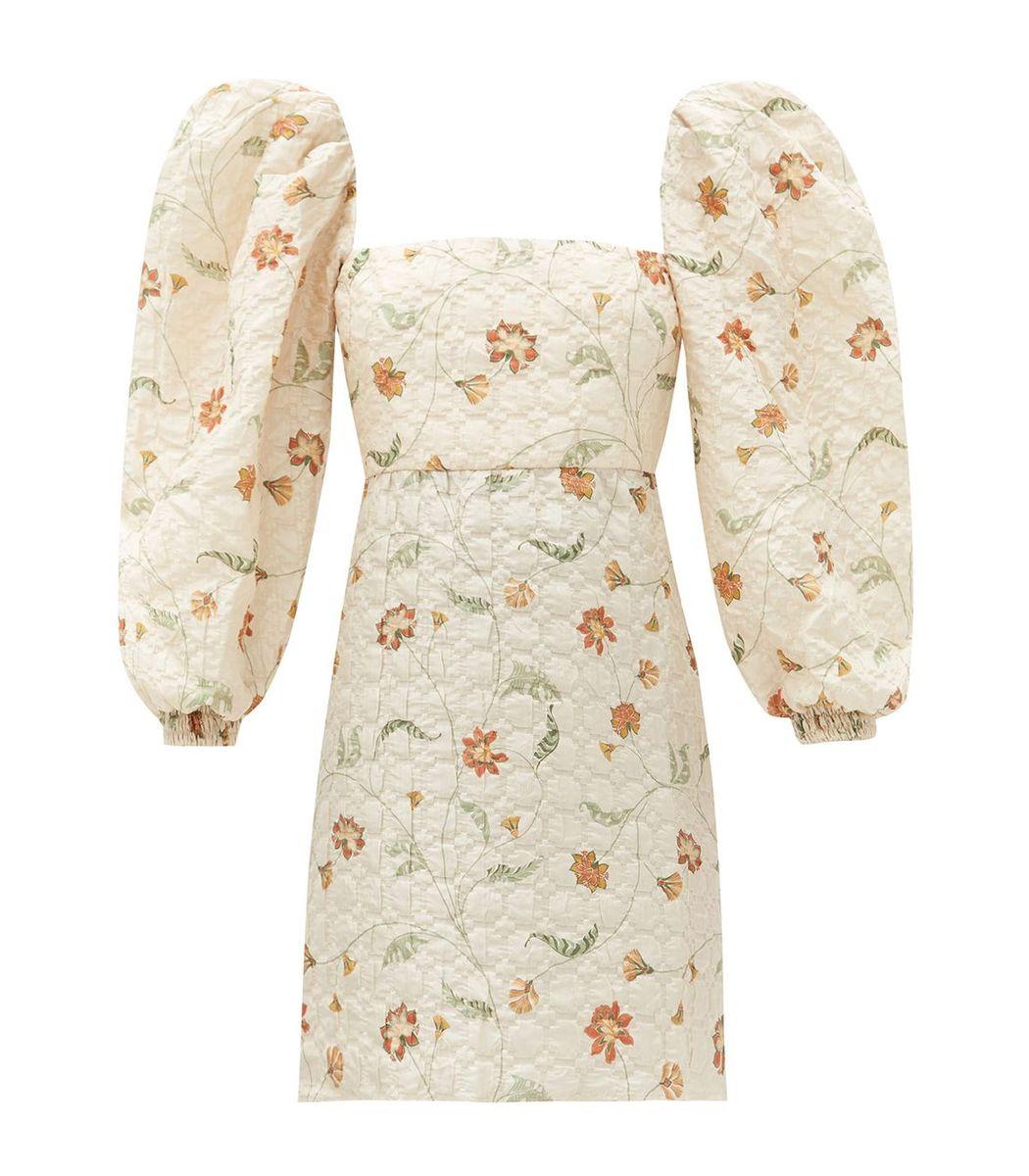 Johanna Ortiz Wayfaring Floral Print Mini Dress