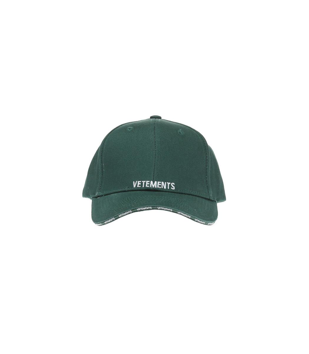 Logo Cap in Green VETEMENTS CLazHH8uF