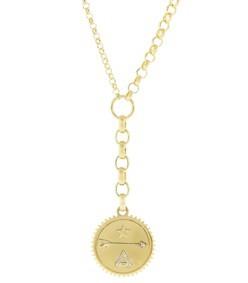medium dream medallion necklace