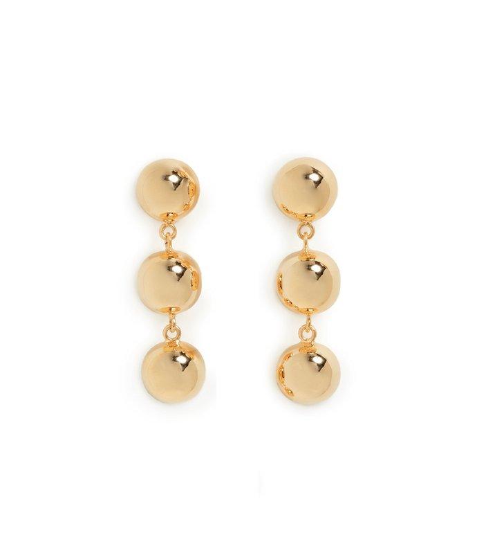 ecelyn earring in gold