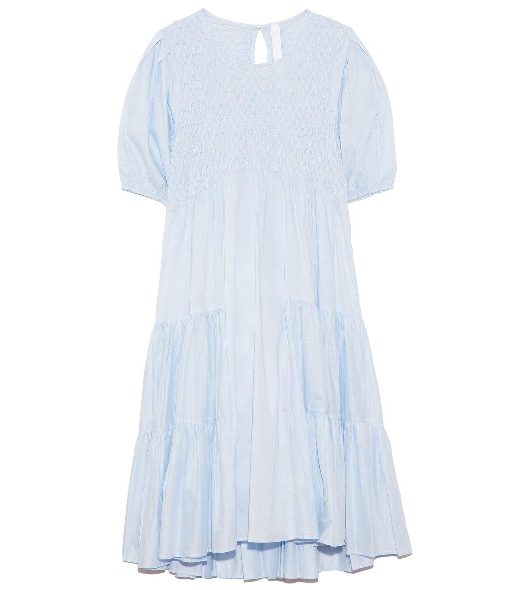 Merlette Midi dresses Vallarta Dress in Light Blue