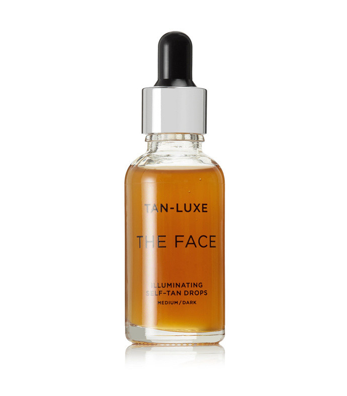 the face illuminating self-tan drops - medium/dark, 30ml