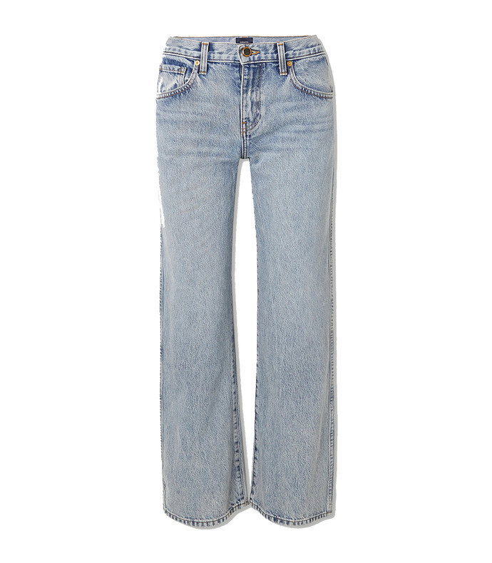 kerrie mid-rise straight-leg jeans