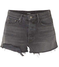 cindy frayed denim shorts